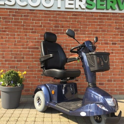 El-Scooter L3B, 2015, Blå, Hastighed maks. 15…