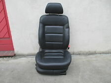 el. Beifahrersitz VW Passat 3B 3BG Sitz Ausstattung LEDER schwarz