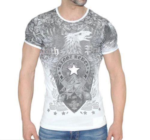 T-Shirt - Faith Pride - weiß  | Elegante Und Stabile Verpackung  | Hochwertige Materialien  | Ruf zuerst