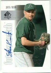 STEVE-KENT-2002-SP-Authentic-Rookie-Future-Watch-AUTO-999-Tampa-Devils-Rays-RC
