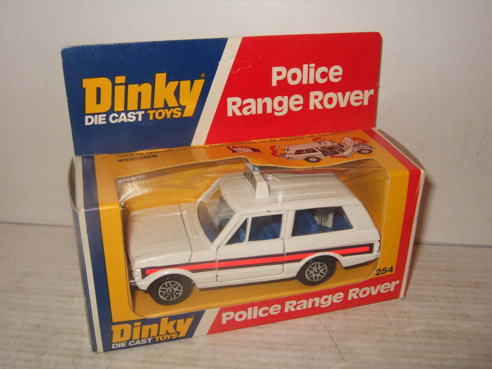 Vintage rare dinky toys 254 Range Rover pour la police & original dinky box. | Fiable Réputation  | Ingénieux Et Pratique  | Outlet Online Store