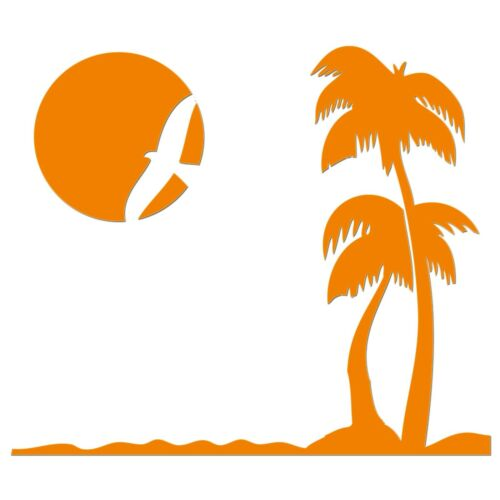 Dream Beach Iron On T-Shirt Clothes Heat Transfer Vinyl Sticker HTV 12 Colours