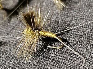 FLY FISHING FLIES BAETIS THORAX OLIVE  #22 CUSTOM TIED FRONTIER FLY COMPANY