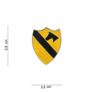 1st Cavalry Division Badge Pin US Army Vietnam Nam Usmc Navy Seals Marines WWII