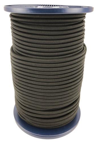 Schwarz Elastisch Gummizug Seil Gummiseil Fessel 4mm 5mm 6mm 8mm 10mm 12mm