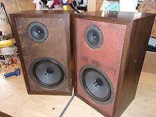 """Set Of H.H. Scott Model S-17 Bookshelf Speakers Vintage 18"""""""