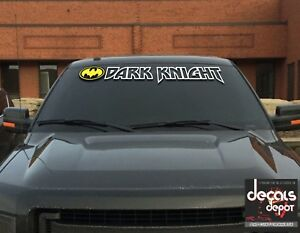 Die-Cut-Vinyl-Batman-Logo-Decal-Sticker-Dark-Knight-UNIVERSAL-WINDSHIELD-BANNER