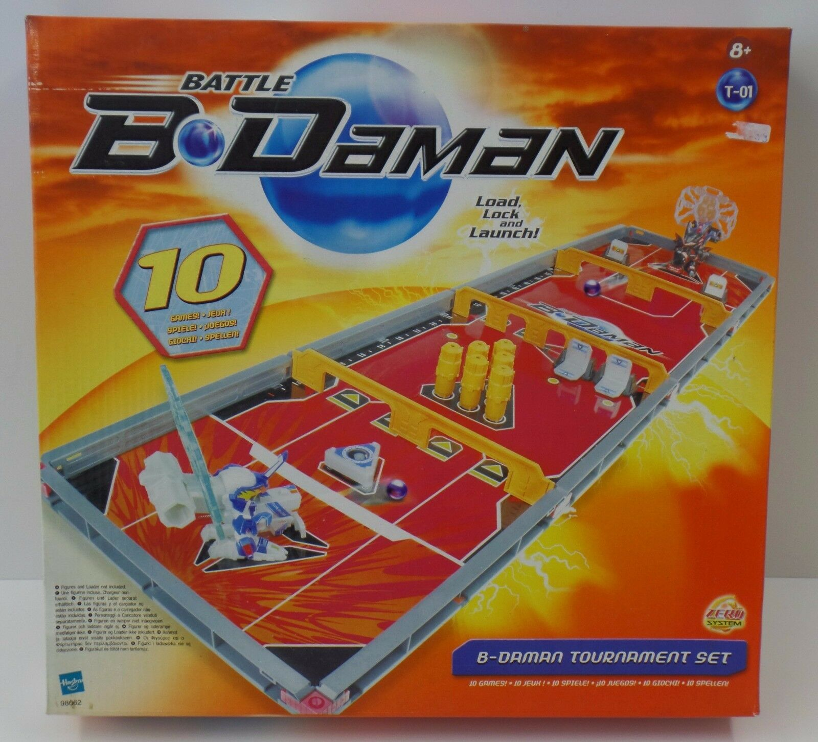 HASBRO-B-Dauomo-torneo  Set-TOURNAMENT SET-NUOVO nuovo  negozio online