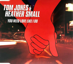 Tom-Jones-amp-Heather-Small-Maxi-CD-You-Need-Love-Like-I-Do-Europe-EX-M