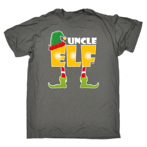 Funny T Shirt Uncle Elf Birthday Joke Humour tee Gift Novelty tshirt T-SHIRT