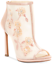 thumbnail 1 - NEW Jessica Sympson Womens Pedell Shootie Heels Size 9 Sheer Nude Blush Mesh $99
