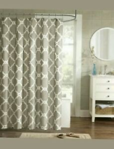 Image Is Loading Madison Park Diablo Printed Shower Curtain 72 034