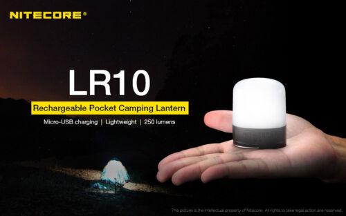 Utility Light Olive NITECORE LR10 250 Lumen USB Rechargeable Pocket Camping