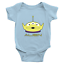 Infant-Baby-Rib-Bodysuit-Jumpsuit-Babysuits-Clothes-Gift-Toy-Story-Alien-Green thumbnail 4