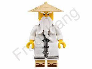 split from set 70618 LEGO 70618 Ninjago Movie Jay  Minifigure Only