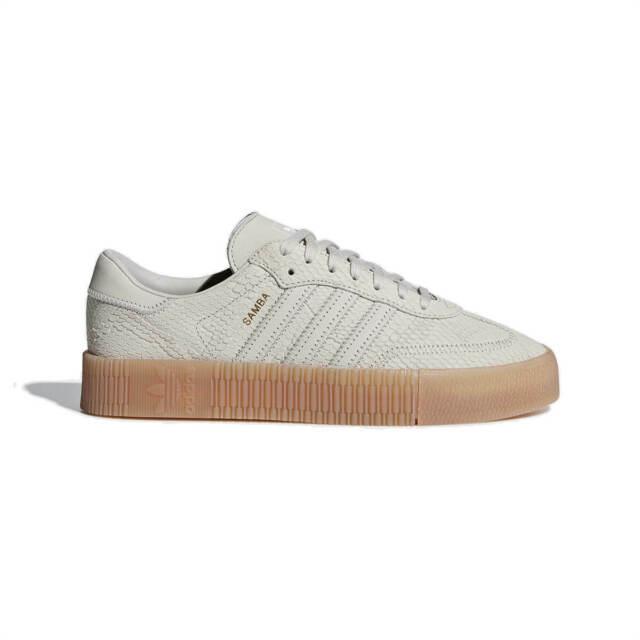 New Adidas Sambarose W B28163 Women Clear Brown Fashion Shoes נעלי אדידס