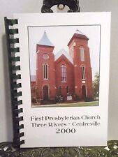 LN Three Rivers Centreville Michigan Cookbook First Presbyterian Church 2000