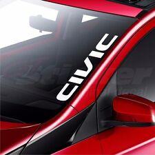 Honda Civic Car Windscreen Sticker Rear Window Bumper Decal