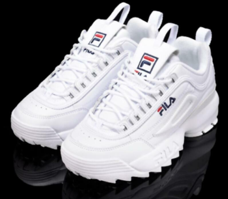 FILA Disruptor II 2 Womens Athletic Sneakers Running Training Casual Sport Shoes 8