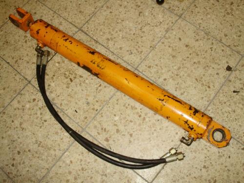 Doppelwir Hydraulikzylinder Hubzylinder max 170cm Länge Hydraulikschlauch gut