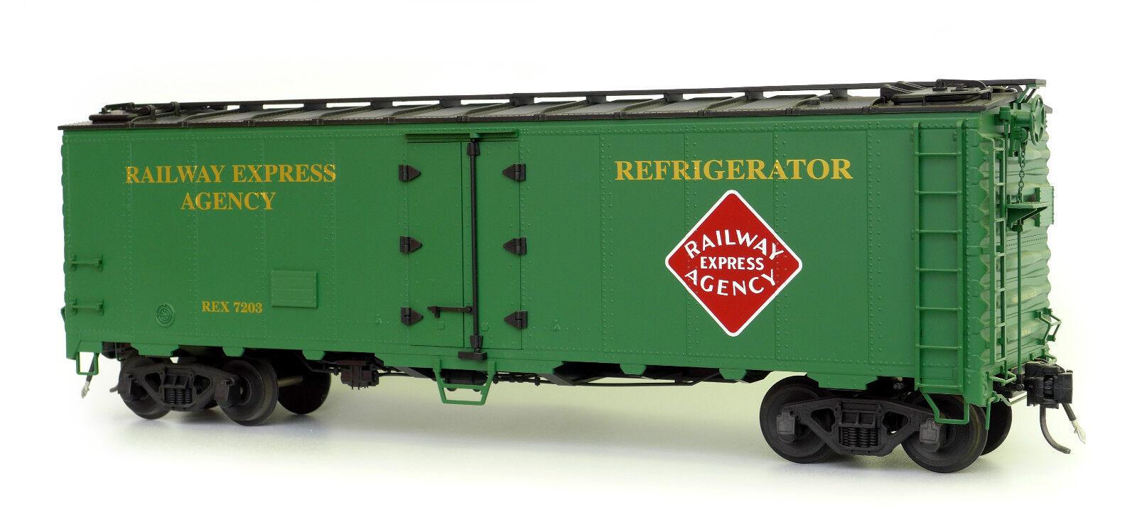 USA Trains r16508 Rea 40 ft. refrigerator Car, Ultimate Series, 1:29 con Kadee