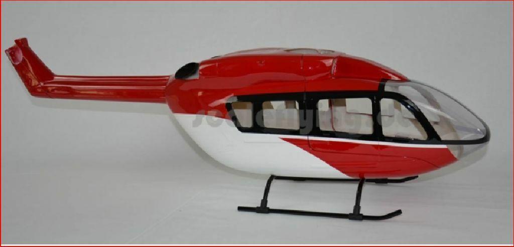 T Rex 450 Copter x  Scala Scafo EC145 Drf  100% nuovo di zecca con qualità originale