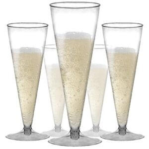 CHAMPAGNE-FLUTES-Wedding-Party-Strong-Plastic-Prosecco-Wine-Drinking-Glass-Cup