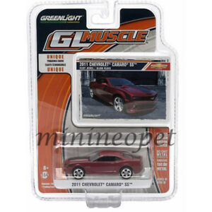 GREENLIGHT-13100-E-GL-MUSCLE-2011-CHEVROLET-CAMARO-SS-1-64-DIECAST-RED