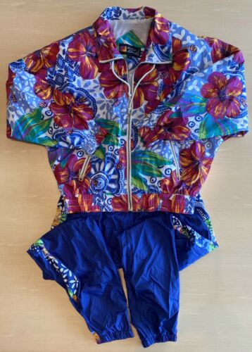 Vintage Andy Johns Women's Sz Sm 2-Piece Track Sui