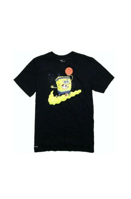 men/'s XL spongebob loose fit t-shirt spongebob square pants yellow top fun XL