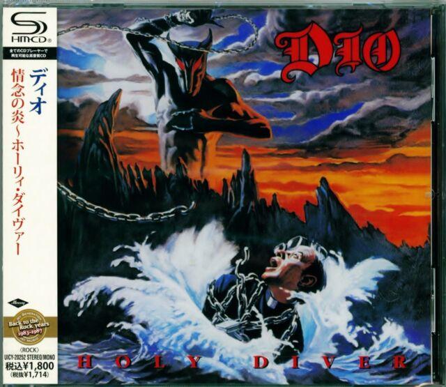 Dio Holy Diver 2011 Japan RMST SHM High Fidelity Format CD-Vivian Campbell