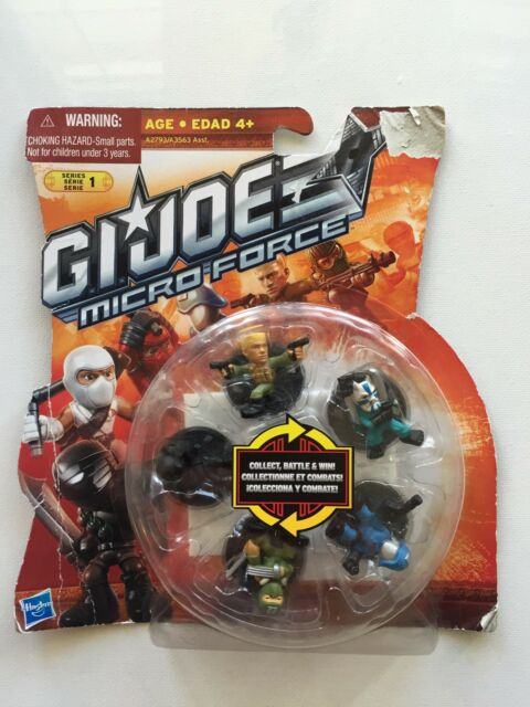 GI Joe Micro Force Pack of 5 Hasbro 2012 NIP