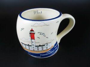 Travemünde Kaffeetasse Leuchtturm Ebbe Flut Coffee Cup,Becher Tasse Souvenir