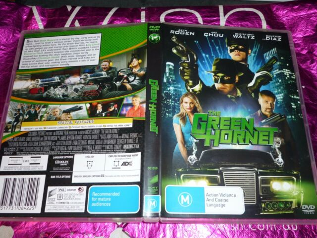 THE GREEN HORNET (DVD, M) (P132264-16 A)