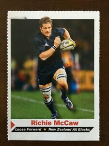 Si For Kids Richie Mccaw Card 97 New Zealand All Blacks Rugby Ebay