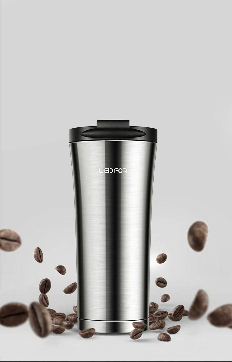 Café en Métal Isolé Cuivre ACIER INOXYDABLE FIOLE à VIDE voiture thermique eau Mug