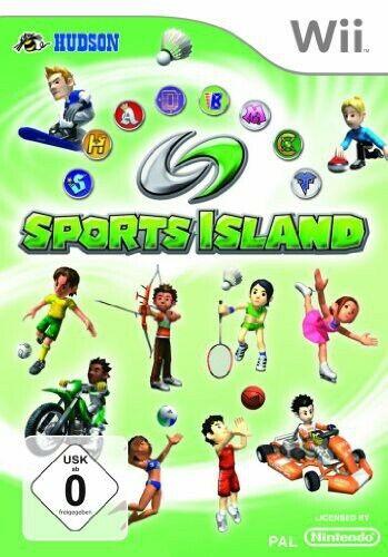 Nintendo Wii jeu - Sports Island 1 dans l'emballage utilisé