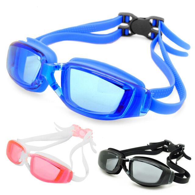 TYR Performance Stealth Swimming Goggles Smoke Swim Team Pool Black