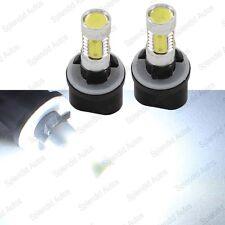 2 pc 7W High Power Xenon White 880 881 LED Bulbs For Car Fog Lights or Driving