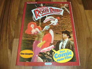 Ehapa-Filmband-13-Falsches-Spiel-mit-ROGER-RABBIT-Comic-zum-Film-1988
