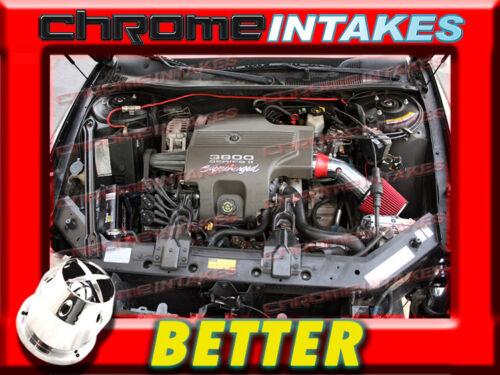 CF RED 97 98 99 00 01 02-04//1997 1998 1999-2004 BUICK REGAL 3.8L V6 AIR INTAKE