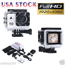 1080P Full HD Sports Recorder Car Cam Waterproof Action 12MP DV Camera Camcorder