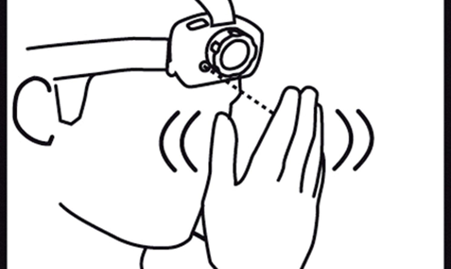 SCANGRIP SENSORE SENSORE SENSORE 1W CREE XP- E Wave, mani libere LED 40m FARETTO de1afb
