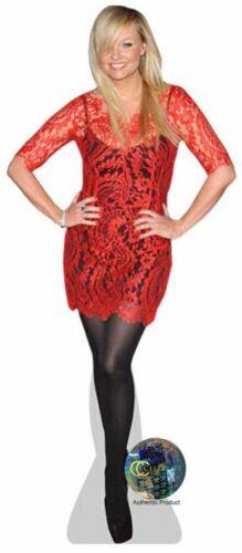Red Dress Standee. Emma Bunton Cardboard Cutout mini size