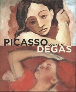 Pablo-Picasso-Looks-at-Edgar-Degas-Hardcover-NEW-Sealed-Yale-University