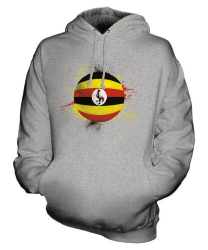 Ouganda Haut Sweat Cadeau Coupe Du À Unisexe Monde Capuche Football Sport rqHCr
