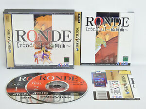 Sega-Saturn-RONDE-with-SPINE-Card-Japan-Game-ss