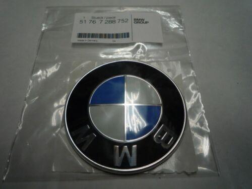BMW Genuine 82mm Front Bonnet Hood /& Boot Trunk Emblem Badge 51767288752 LLOYD