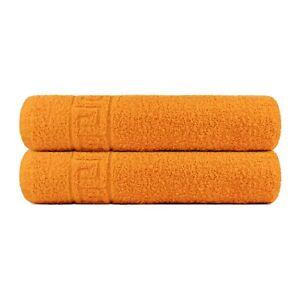 Bath-Towels-set-2-Bath-or-2-Hand-Towels-Gym-Spa-100-Cotton