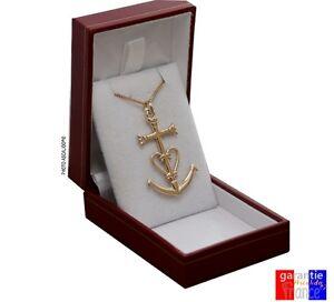 Coffret neuf pendentif croix de camargue Camargaise + chaine en ... 8139f6cc2d4